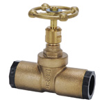 10K Type Lead Free Bronze Socket Type Gate Valve for Embedding (Toyo Valve)