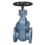 JIS 10 K Type - Cast-Iron F Type Gate Valve <Internal Thread> (JIS B 2031)