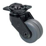 Super Heavy Class - 100X-N - Truck Type - for Extremely Heavy Load - Nylon Wheel (Gasket Caster)