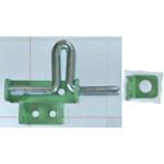 Iron Painted Gate Latch VD