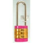 Long Shackle Round Character Combination Locks, VA