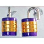 Identical Key Round Character Combination Lock, VA