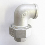 Hex Union Elbow Pipe Fitting - Female/Female, Stainless Steel (Yodoshi)
