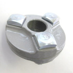 Assembly Flange Pipe Fitting - Female, Epoxy-Coated Steel (Yodoshi)