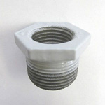 Hex Bushing Pipe Fitting - Male, Epoxy-Coated Steel (Yodoshi)
