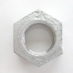 Hex Lock Nut - Galvanized Cast Iron (Yodoshi)