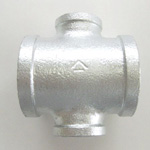 Adapter Cross Pipe Fitting for Fire-Protection - Female, Steel (Yodoshi)