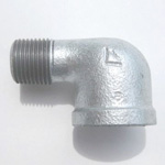 90 Degree Adapter Street Elbow Pipe Fitting for Fire-Protection - Female/Male, Steel (Yodoshi)