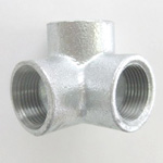 90 Degree 3-way Cross Outlet Pipe Fitting for Fire-Protection - Female, Steel (Yodoshi)