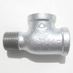 Adapter Tee Pipe Fitting for Fire-Protection - Female/Female/Male, Steel (Yodoshi)