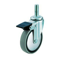 ST-SW Special Swivel Caster Screw-in Type (with Double Stopper)