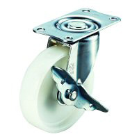 E-S Model Swivel Wheel Plate Type (With Stopper)