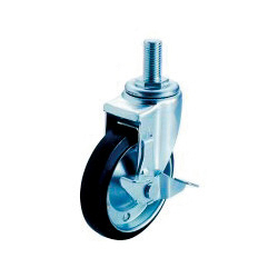 SJT-S Swivel Caster Screw-in Type (with Stopper)