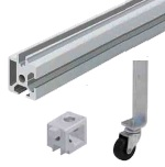 Aluminum Extrusions for DoorsImage