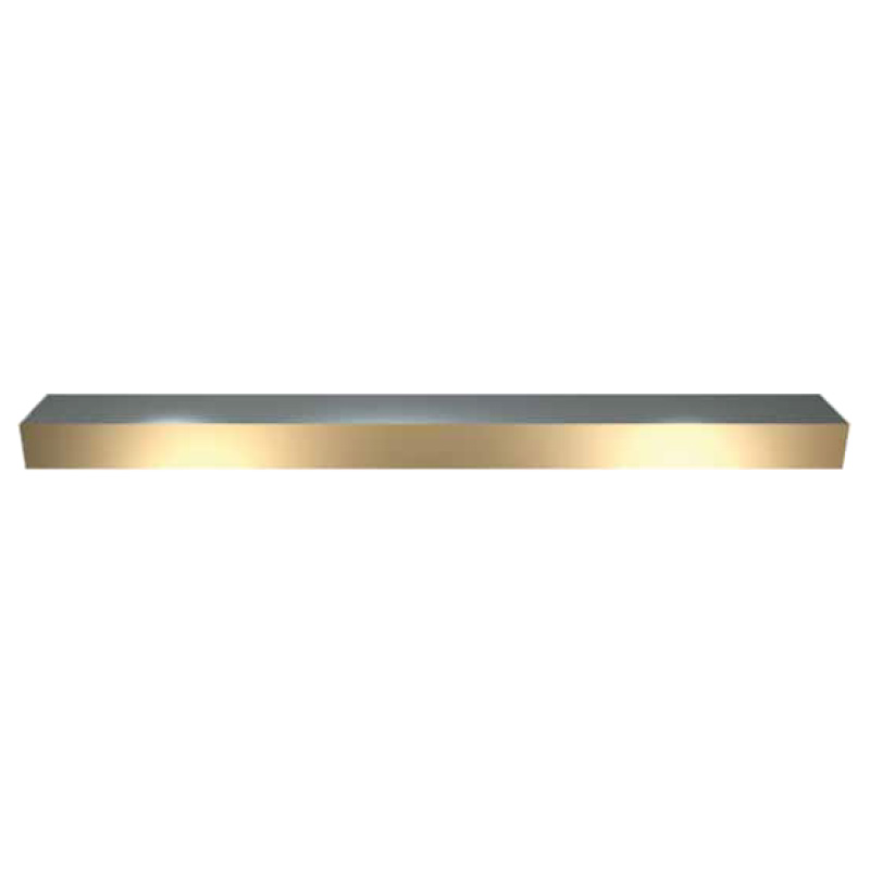 Side Strip - Bronze-Plated - SP - Inch