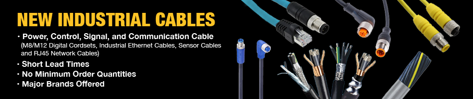 NEW INDUSTRIAL CABLES